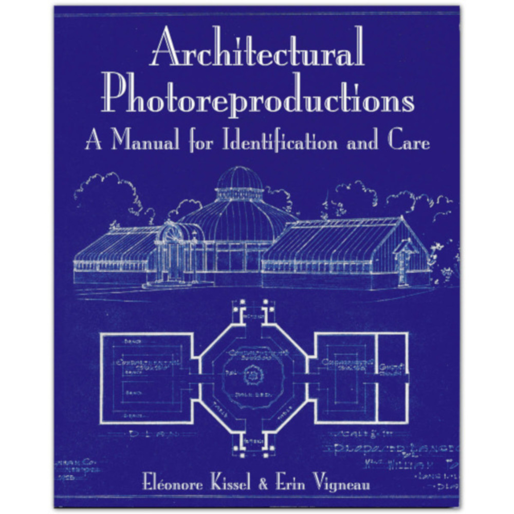 fig 9. When studying the reproduction techniques a few very good English books were found –  E. Kissel, E. Vigneau (2009).Architectural Photoreproductions: A Manual for Identification and Care. New Castle, USA:□Oak Knoll Press and the New York Botanical Garden.